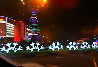 Новороссийск приобретает новогоднее настроение