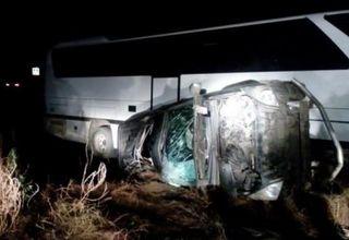 Новороссийский автобус попал в ДТП под Темрюком